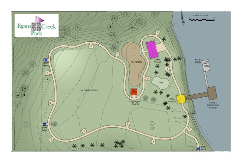 Egans Creek Site Plan